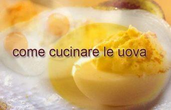 logo cucinare le uova